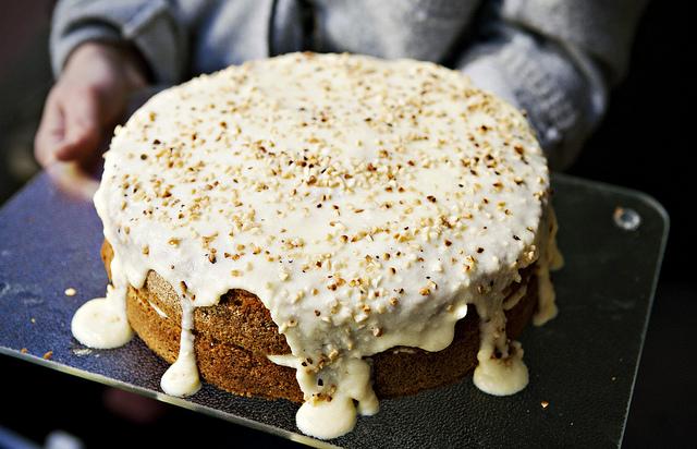 Selbstgebackene Kuchen auf dem Restaurant Day.