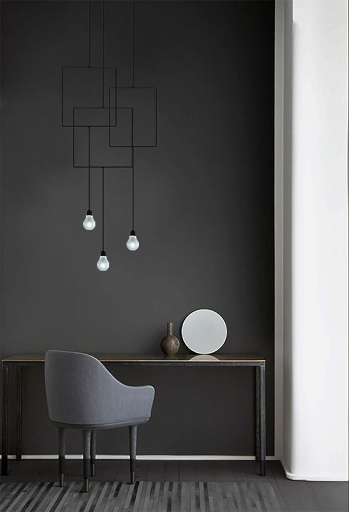 Aller guten Dinge sind... drei Lampen in einem Style.