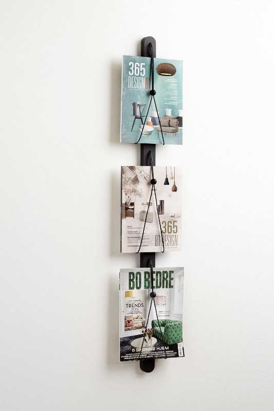 Baam magazine rack black