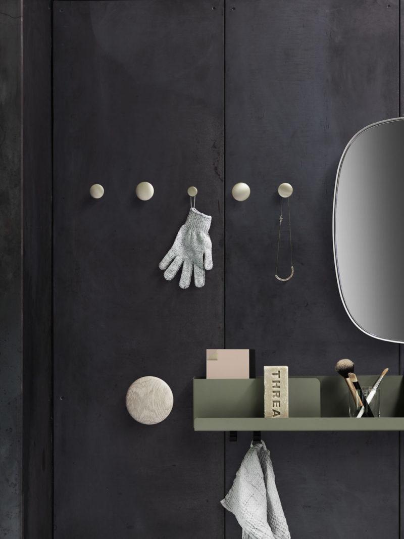 Einfach mal abhängen: Dekorative Wandhaken