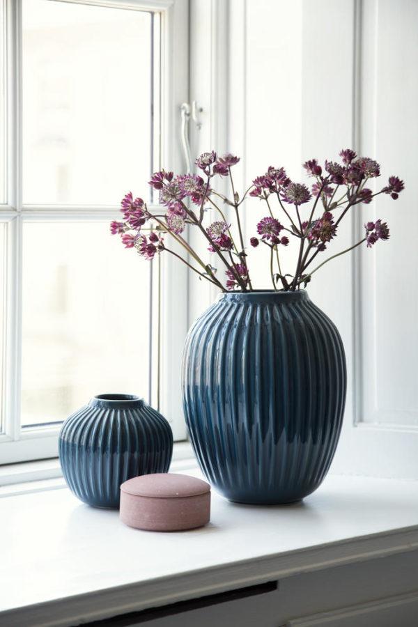 Hammerschön: Hammershøi Vase von Kähler Design