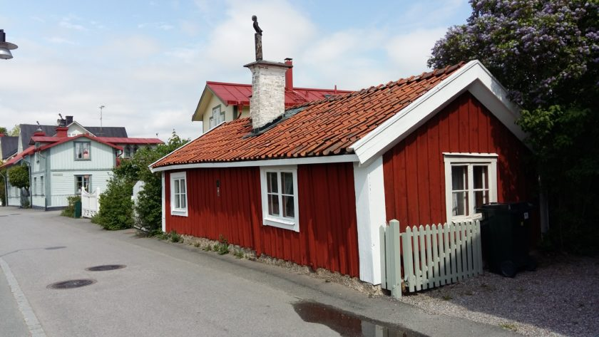 Kleinstes Haus in Trosa