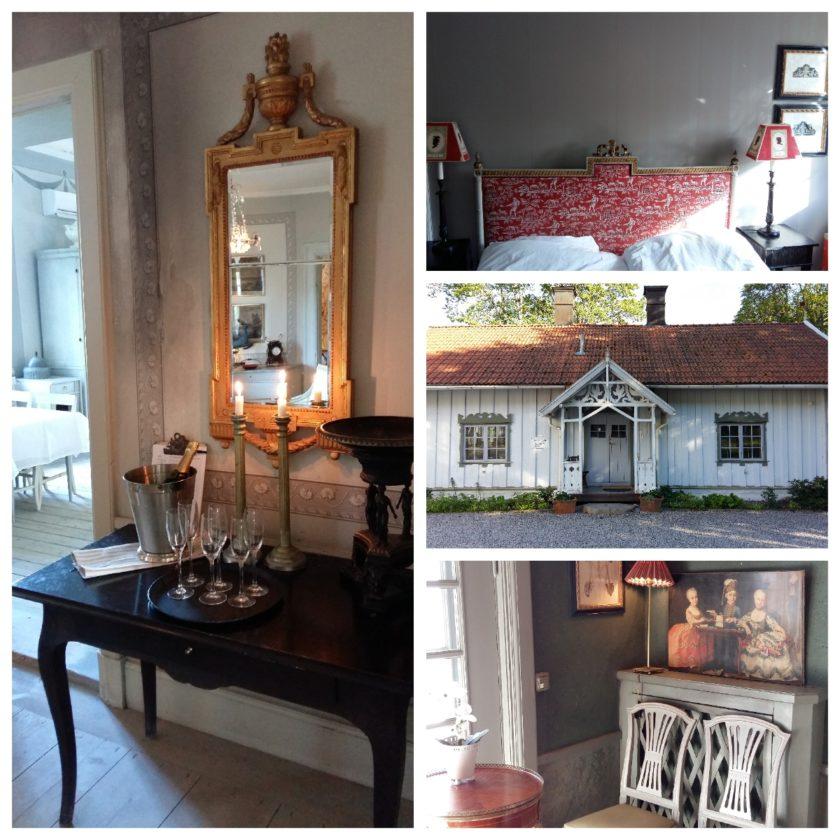 Jedes Zimmer ist anders eingerichtet, mit viel Liebe zum Detail. In den Nebengebäuden gibt es sogar kleine Appartments.
