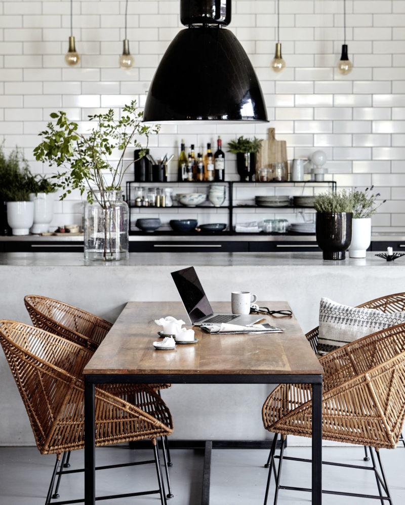 Inspiration für deine Wohnküche gesucht? Bitteschön!
