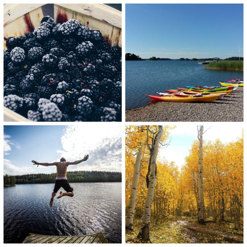 Finnlands Natur ist ein einziges großes Wunderland aus Seen, Wäldern und einsamen Weiten...