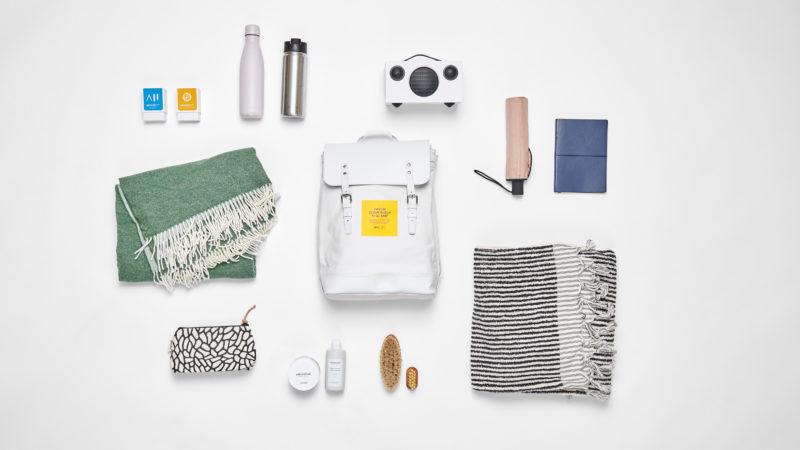 Ein Rucksack voller Designerstücke – gratis!