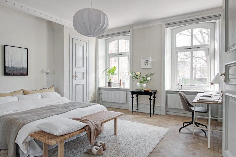 Stilmix: Skandi-Altbauwohnung in Göteborg