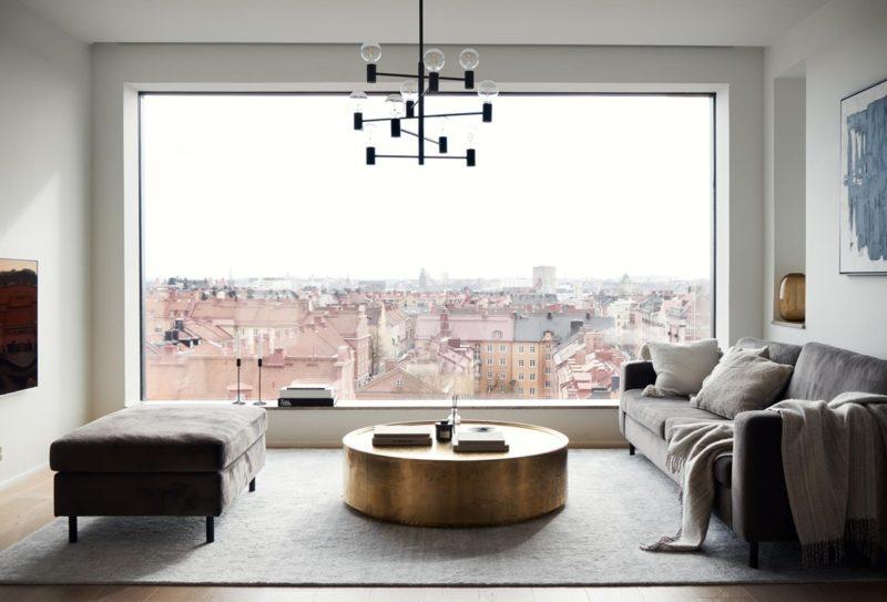 Kuscheln mit Blick über Stockholm