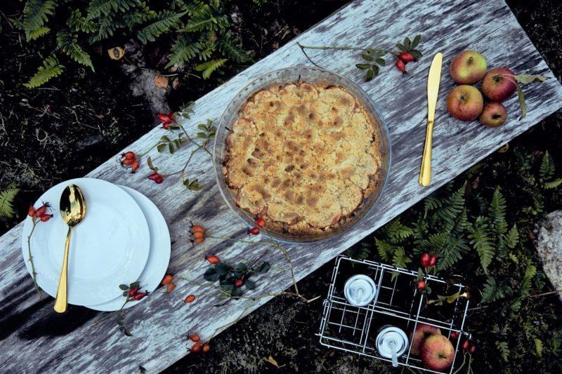 "Skandinavischer Apfelkuchen ""Äppelpaj"""