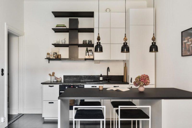 Inspirierende Mini-Wohnung im Stockholm-Style