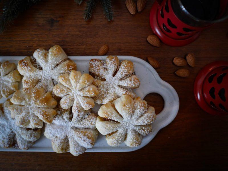 Rezept für finnische Schneeflockentörtchen mit nur drei Zutaten