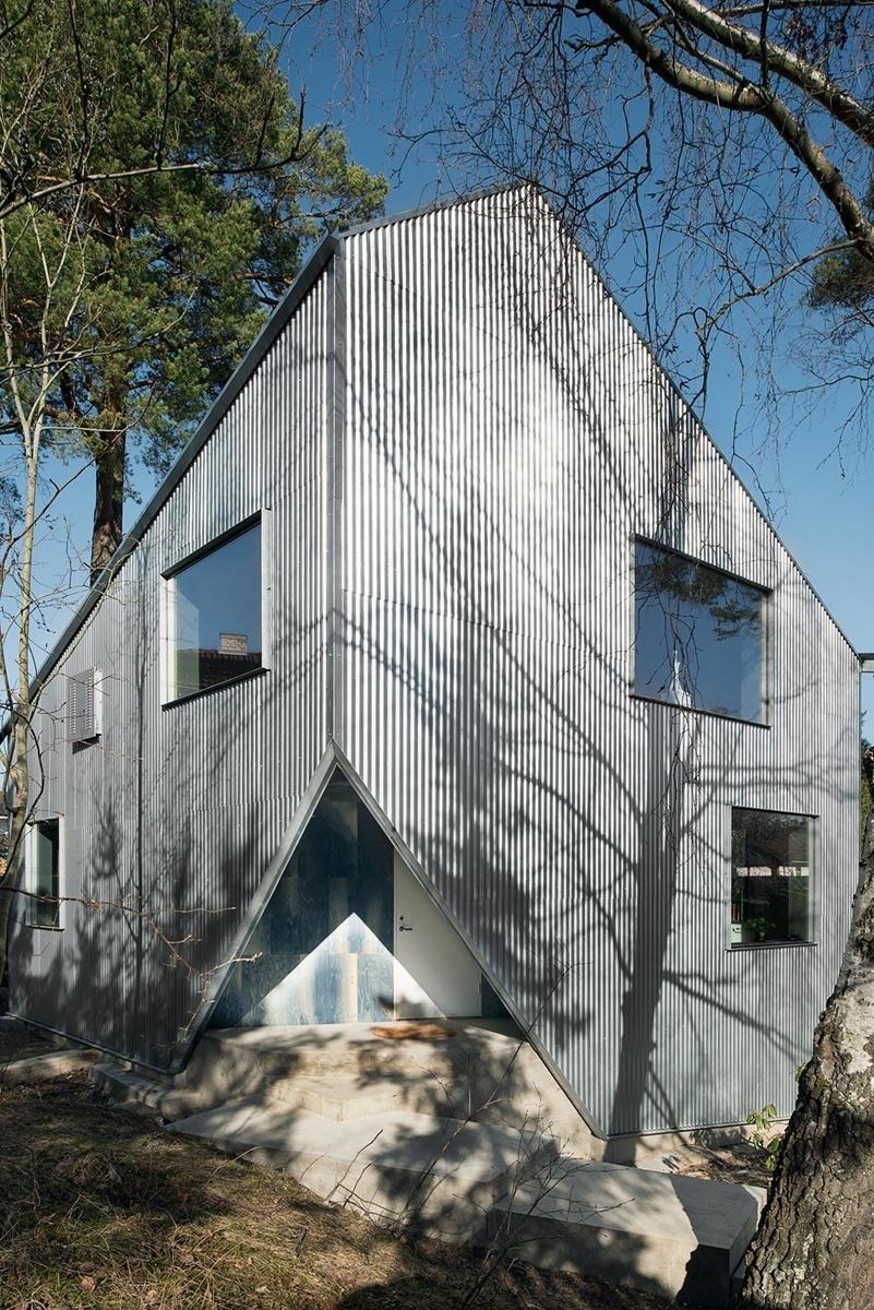 Außergewöhnliches Designhaus in den Stockholmer Schären