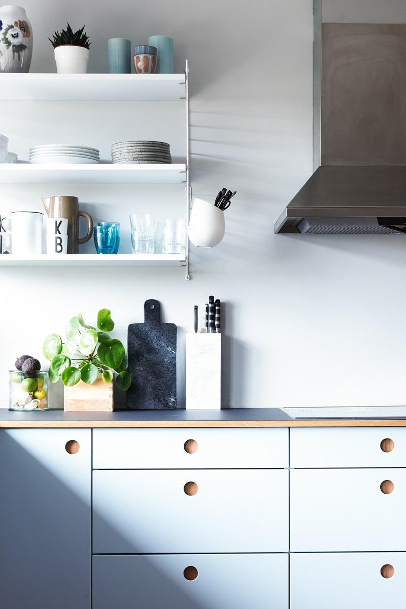 Ikea-Hack: Bau dir eine dänische Küche in Himmelblau