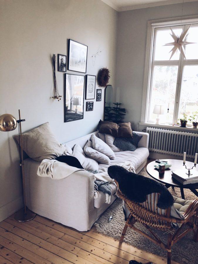Wohnzimmer mit Kuschelsofa