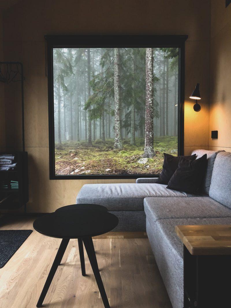 Schwedenurlaub im Tiny House mitten in der Natur